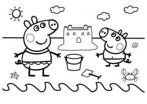 dibujos peppa pig imprimir colorear dibujos colorear