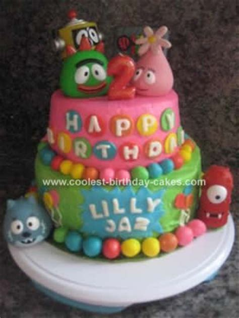 Tongsis Kabel Karakter Disney Hellokitty Mickey Mouse coolest yo gabba gabba birthday cake 33