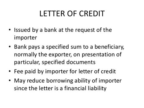 Letter Credit Usance Export Documents Letter Of Credit Bill Of Exchange Bill Of Lad