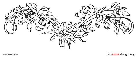 lower back flower tattoo designs 95 lower back tattoos tr st tribal designs