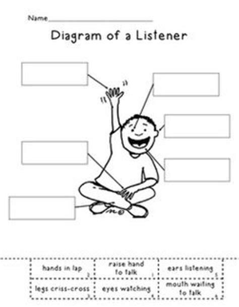 Listening Skills Worksheets For Kindergarten by 1000 Ideas About Listening Skills On