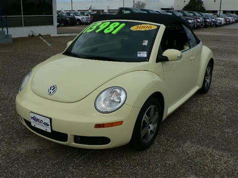 2006 volkswagen new beetle information and photos momentcar