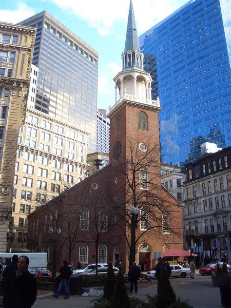 Church In Boston by Boston Tom S Blahg
