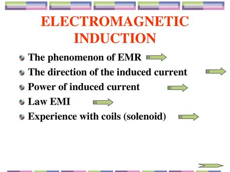 self induction phenomenon electromagnetic induction презентация онлайн