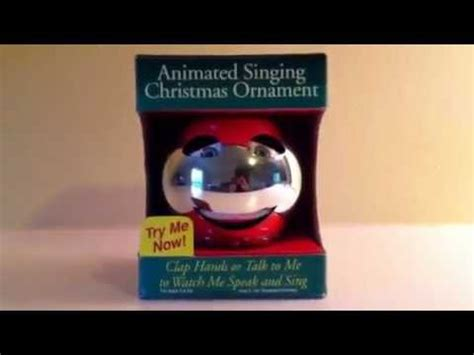 vintage animated singing christmas ornament singing decorations animated www indiepedia org