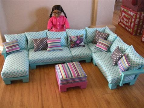 american girl doll couch doll couch chairs living room furniture sectional for