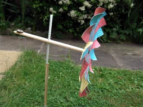 How To Make A Paper Wind Turbine - make a paper wind turbine