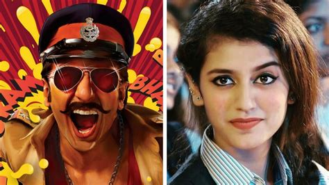 actress of simmba priya prakash varrier will reportedly make her bollywood