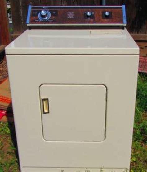 Craigslist Chico Garage Sales by 1 Vintage Whirlpool Dryer And 2 Refrigerator And Range