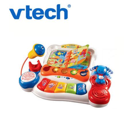 Vtech Sing And Discover Piano 6m Mainan Vtech T3010 2 vtech baby sing and discover piano with microphone sales