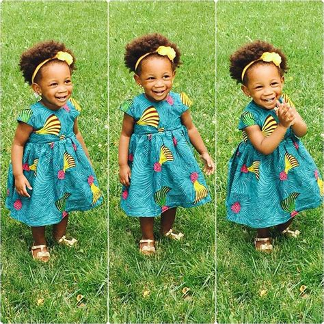 nigerian native styles for children check out the cutest ankara dresses for kids