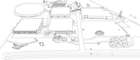 Philip Johnson Glass House Building Floor Plans Scaled by Vitra Designcus Ein Tag Im Himmel Der Innen