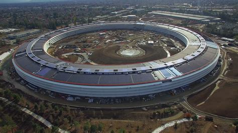 apple headquarters tour see new clips of apple s nearly complete cus 2 planet
