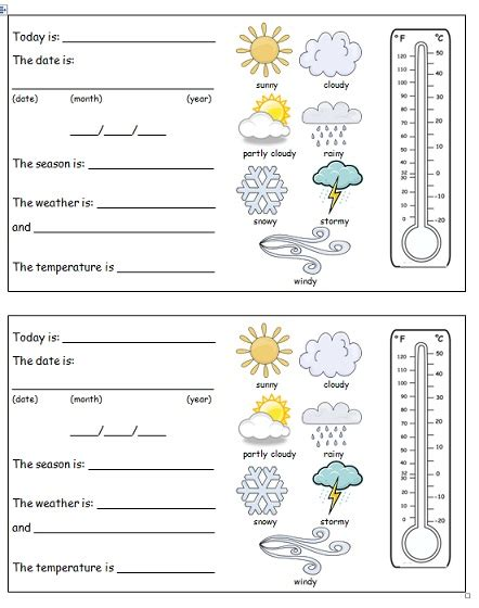 weather pattern activities weather pattern worksheets worksheets for all download