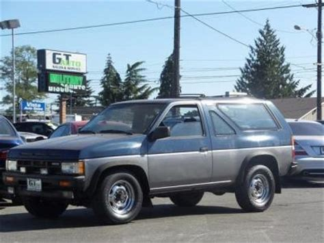 1990 nissan pathfinder mpg unclaimed 1990 nissan pathfinder for sale bank repo and