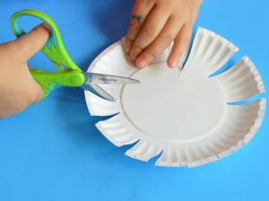 Craft Work Paper Flowers - paper plate flower craft for the resourceful
