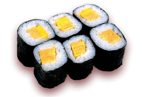 Sushi Tamago Roll Sushi Izumi Berlin Tamago Maki