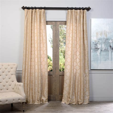 half priced drapes half price drapes filigree blue flocked faux silk curtain