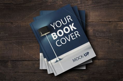 Sale Book Cover Mockup Product Mockups On Creative Market Digital Mock Up Templates