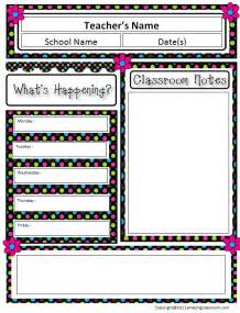 blank newsletter templates for teachers 5 best images of printable newsletter templates for