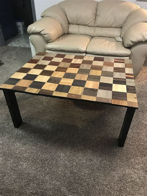 completely  coffee table  pallet wood