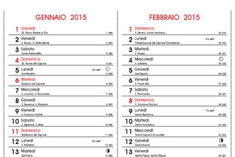 Calendario 2015 Da Stare Calendario 2015 In Pdf Con E Fasi Lunari Da Stare