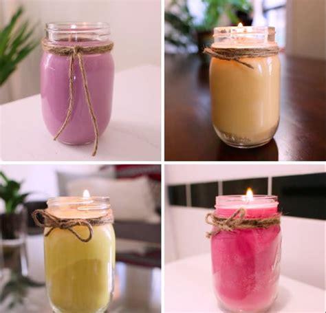 idee candele fai da te oltre 25 idee originali per fare candele su