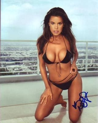 rosa blasi signed autographed sexy bikini photo (1) at
