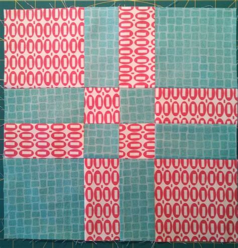 Big Quilt Tutorial by Big Nutty Quilter Disappearing 4 Patch Block Variation