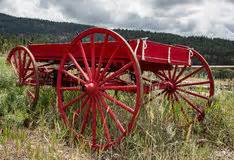 little red wagon royalty free stock photos image: 5373788