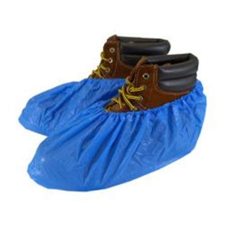 boat safety zone polyethylene waterproof textured shoe covers water proof