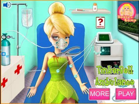 Disney Tinkerbell Games For Kids Disney Doctor - YouTube Kids Games For Girls Disney Free Online