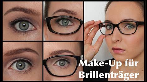 fuer brillentraeger augen groesserkleiner schminken