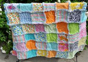 rag quilt by richard healey quilting pattern
