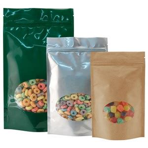 Food Packaging Kemasan Standing Pouch Hijau Zipper 14x23x4 1 C stand up pouches with window coffeeshop co id
