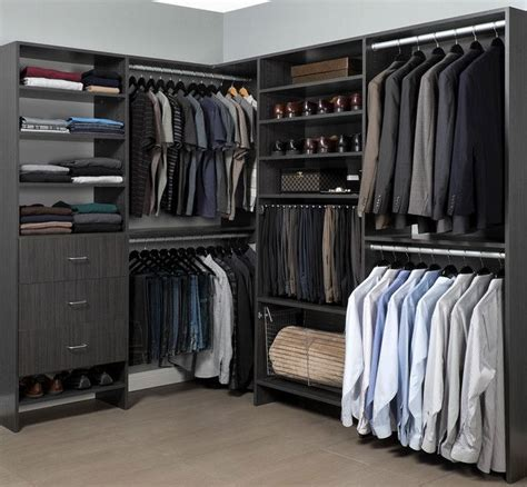 man closet ideas  pinterest mens closet