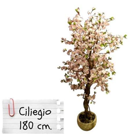 piante da arredo interno piante finte artificiali da arredo interno ciliegio 180 cm