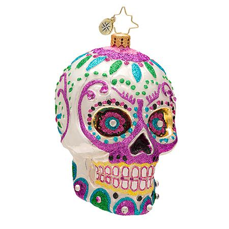 christopher radko ornaments 2014 radko skull christmas