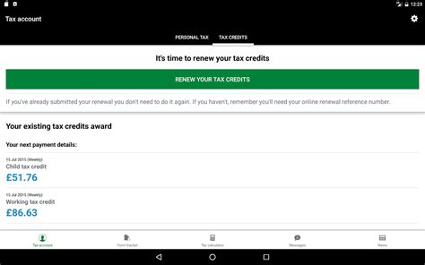 Tax Credit Renewal Forms Sent Out hmrc android apps on play