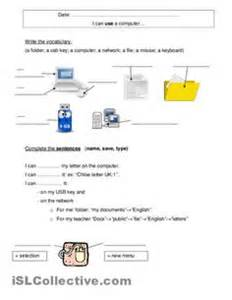 worksheet for grade 2 computer computer systems student