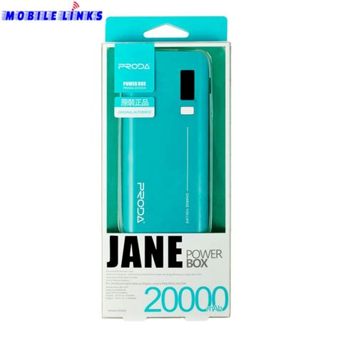 proda series power box 20000 mah power bank blue in