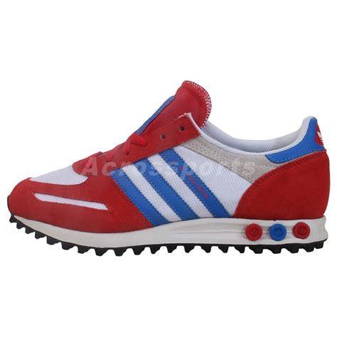 adidas retro running shoes adidas originals la trainer blue retro running shoes