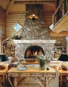 Rustic Log Home Decor by The Essence Of Home Rustic Cottage Decor