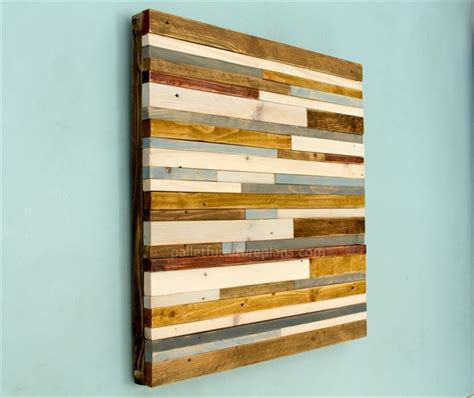 Home Decor Wood Signs by Wooden Pallet Sculpture Wall Art Pallet Furniture Plans