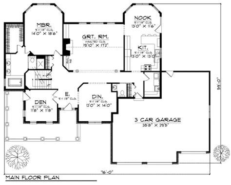 home plan homepw11372 2996 square foot 5 bedroom 4 country style house plan 4 beds 3 50 baths 2996 sq ft