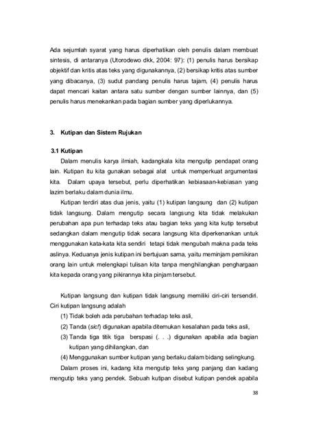 syarat membuat jurnal umum bahasa indonesia buku modul bahasa indonesia ditjen dikti