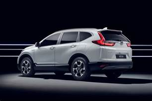 In Honda Hybridised Honda Suv New Cr V Hybrid Prototype Hits