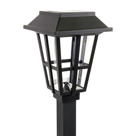 Alpan Solar Garden Lights Alpan Solar Pathway Light Black Strategic Merchandise