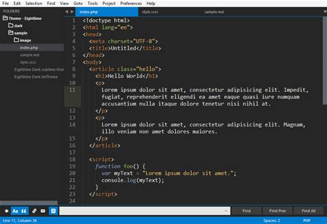 sublime text 3 select theme github hrsetyono eightlime eightlime sublime text
