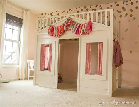 playhouse beds for remodelaholic 15 amazing diy loft beds for